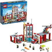 Lego City Fire Department 60110 Japan Import New