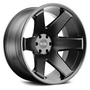 Black Rhino Raze Wheels 22x14 -76 8x180 125.1 Black Rims Set Of 4
