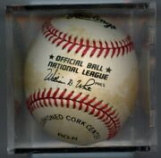 Mickey Mantle Signed Official National League Baseball