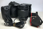 Canon 70d Camera S.c. 4034 With Canon Zoom Lens Ef-s 18-55mm F3.5-5.6 Is Stm