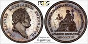 Russia Medal 1814 - Alexander I - Catherine Visits London Pcgs Sp63 Bn D-383.1-r