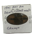 Lot 3 Pan American Dainty Canned Meats 1901 Elongated Coin Chicago