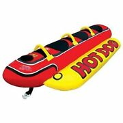 Airhead Hot Dogtube Style Towable 102 X44 Deflated For 3 Riders Hd-3