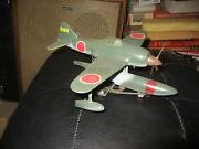 Pro Built Japanese Kawanishi N1k1 With Cart In 1/48 Scale- Awesome
