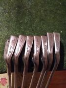 Tommy Armour 855s Silverscot Irons Set 4-pw Stiff Steel Shafts
