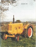Antique Power Magazine May June 1993 Number 4 Tractor Farm Implement