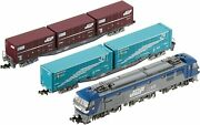 Tomix N Scale Ef210 Container Train Set 92491 Model Train Freight Railroad New