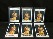 6 Card Lot Kevin Durant 2007 White Topps Rookie 2 Of 14. Invest Nba