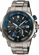 Casio Oceanus Cachalot Ocw-p1000-1ajf Menand039s Watch New In Box From Japan