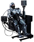 Movie Masterpiece Diecast Robocop With Docking Station Figure Hot Toys Japan New