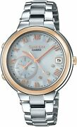 Casio Watch Shb-200asg-7ajf Sheen Voyage Time Ring Series Womenand039s Made In Japan
