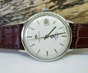 Rare Vintage Movado Kingmatic Calendar White Dial Date Automatic Manand039s Watch