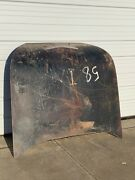 1958 Impala Hardtop Rear Trunk Lid Coupe Two Door Hardtop And Ornament Deck