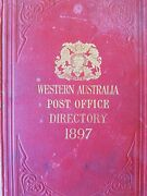 Western Australia Post Office Directory 1897 Antique Wa Local History District