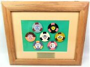 Las Vegas Commemorative Chip Collection The Good Old Days Framed Casino Chips