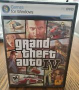 Grand Theft Auto Iv Pc Game Windows Gta4 2 Discs Complete Manual And Poster