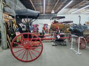 Genuine Studebaker Horse Drawn Buggy With Lights Folding Top Preowned Nice
