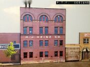 G Scale Scratch Built The Heinz Factory Pittsburgh Building Front - Aristo Lgb