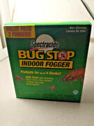 2 Nos Spectracide Bug Stop Indoor Fogger 66oz Cans Out Of Date1999