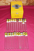 Victor Sinclair Limited Wood Cigar Box And 20 Glass Tubes Shots Spiced Rum Old Dom