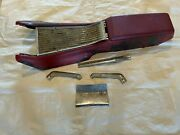 1962-1964 Galaxie Automatic Console Bracket Base Top Plate Lower Trim Moldings