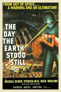 247270 The Day The Earth Stood Still Movie Art Print Poster Wall