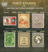 Liberia - 2015 Mnh First Stamps - United Nations Member States S/s 2
