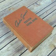 Vintage Cookbook Andre Simon's French Cook Book 1938 Hardcover No Dust Jacket Fi