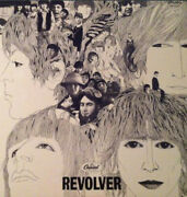 Lp The Beatles Revolver Rainbow Label Large Ring Near Mint Capitol Records