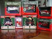 Coca Cola Ornaments Cars And Dispenser Machine And Parachute Collection New And Used