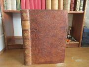 Old History Of The Troubles Of Great Britain Leather Book 1735 English Civil War