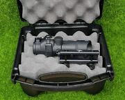 Trijicon 4x32 Acog Scope Led Red Chev W/ Rm01t2 And Mount, Black - Ta31-d-100549