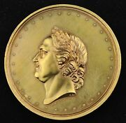 1872 Russia Bronze Medal On The 200 Anniversary Of The Birth Of Peter The Great
