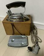Japanese Antique Clothes Iron Panasonic Showa It Cannot Be Used 176.7inandtimes9cm Jp