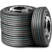 4 Tires Leao F820 255/70r22.5 Load H 16 Ply All Position Commercial