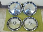 71 72 73 Ford Mustang Hubcaps 14 Set Of 4 Wheel Covers 1971 1972 1973 Hub Caps