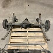 Original 68-72 Mg Mgb Complete Rear Axle Suspension Assembly Oem