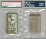 N14 Allen And Ginter General Gov. And State Capitols 1889 Kentucky Psa 4 Vgex