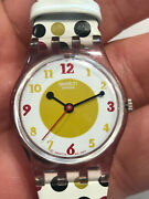 Swatch Watch Tree Of Wisdom Lp125 Womenand039s 25mm 2008 Working New Battery