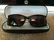 Thierry Mugler Vintage Sunglasses Chunky Black Carved Sides Gorgeous Evc