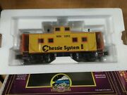 Mth O Scale Chessie Center Cupola Steel Caboose 20-91263 Cab Wm1893 New In Box