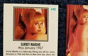 Playboy Trading Cards 1960s And 1970, Lot Of 12. Candy Loving, Nancy Cameron +