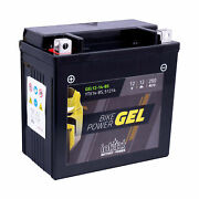 Intact Sealed Gel Battery Suitable For Hyosung Gv650 Aquilia 2004