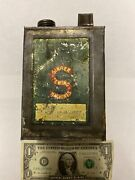 Rare Antique Singer Sewing Co. One Quart Oil Can With Handle