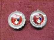 1963-1964 Ford Fairlane/falcon Wire Spinner Hubcap Emblems