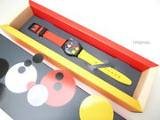 Swatch Limited Special Edition Spot Mickey Damien Hirst Gz323s Rarity