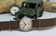 Very Rare 1939 Omega Military Sub Second 26.5 T3 Manual Wind Manand039s Watch