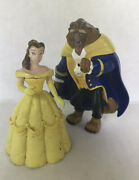 Beauty And The Beast Princess Belle Disney Store Mini Figurines Pvc Cake Topper