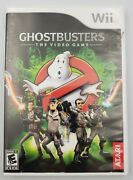 Ghostbusters The Video Game Nintendo Wii, 2009 Complete Cib Tested Works
