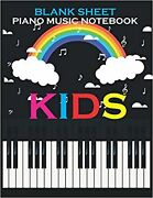 Blanke Sheet Piano Music Notebook Pretty Great Notebook For Kids Piano Learn...